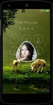 My Photo Name Lock Screen apk screenshot