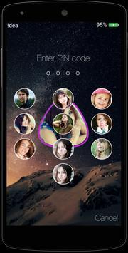 Photo Passcode Lockscreen apk screenshot