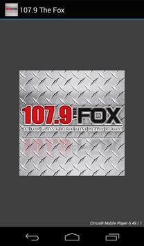 107.9 The Fox poster