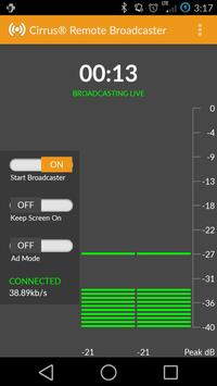 Cirrus Remote Broadcaster screenshot 2