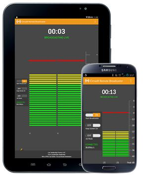 Cirrus Remote Broadcaster screenshot 4