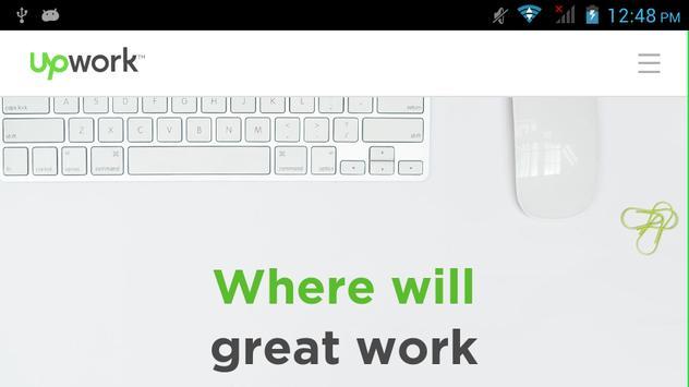 Upwork Click To Go apk screenshot