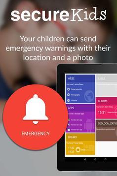 Parental Control SecureKids apk screenshot