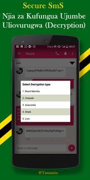 Secure SmS screenshot 3
