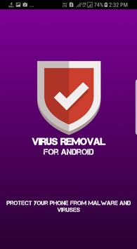 Virus Removal for Android poster