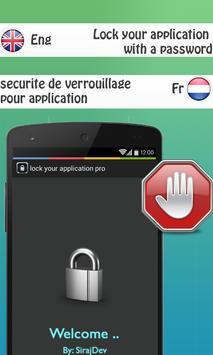 lock my application pro 2016 apk screenshot