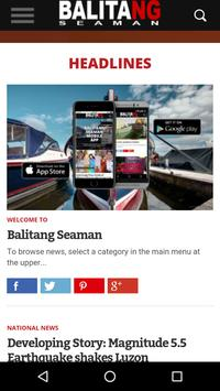 Balitang Seaman PH screenshot 1