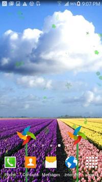 Sea Of Flowers Live Wallpaper apk screenshot