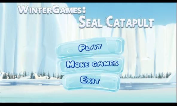 WinterGames: Seal Catapult poster