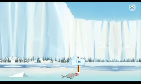 WinterGames: Seal Catapult apk screenshot