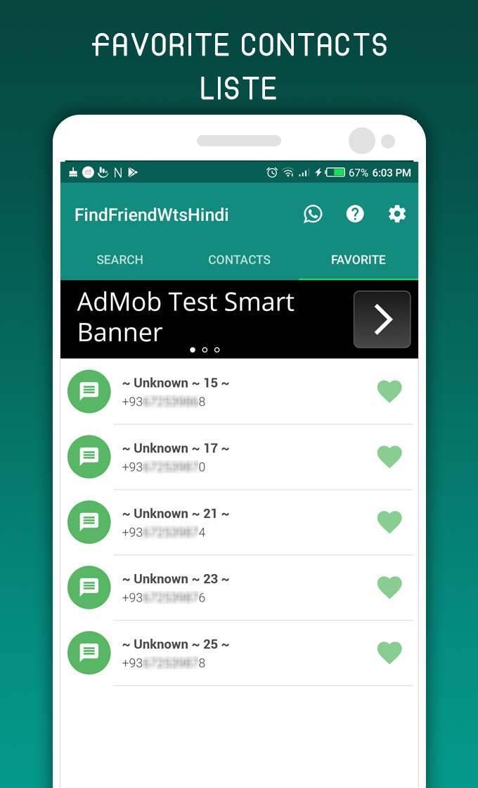 Whatsapp chat screenshot
