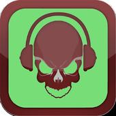 Skull Music Mp3 Mobile icon