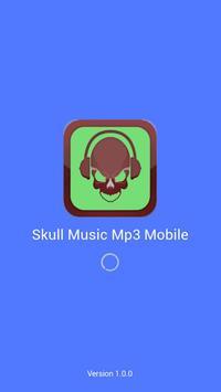 Skull Music Mp3 Mobile poster