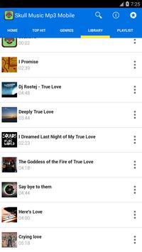 Skull Music Mp3 Mobile screenshot 1