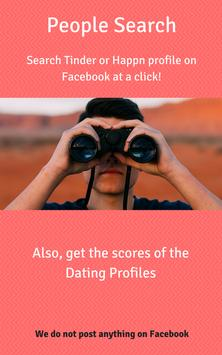 People Search - Tinder, Happn poster