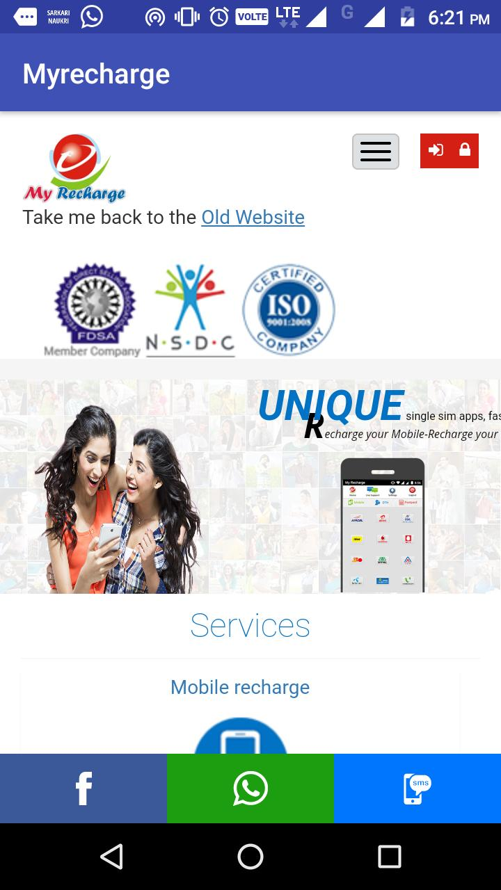 Recharge And Pay(All in one online Recharge Apps) for