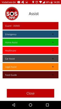 Vaal Triangle SOS app screenshot 2