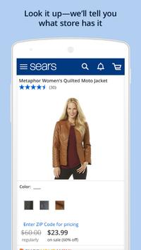 Sears – Shop smarter, faster & save more poster