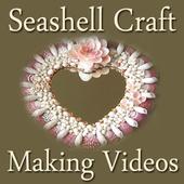 Seashell Craft Making Videos icon