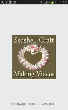 Seashell Craft Making Videos poster