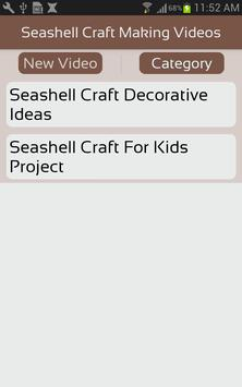 Seashell Craft Making Videos apk screenshot