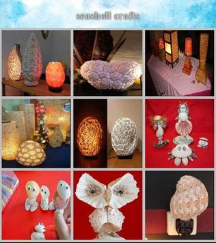 sea shell crafts poster