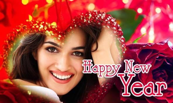 Happy New Year 2018 Photo Frames  HD poster