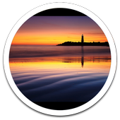 Sleep Sunset Live Wallpaper icon