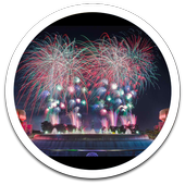 Vibe Fireworks Live Wallpaper icon