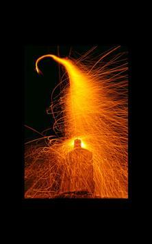 Fire Booster Live Wallpaper poster