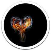 Love Fire Live Wallpaper icon