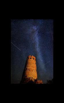 Meteor Shower Hd Photo LWP apk screenshot