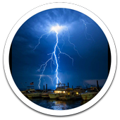 Hd Images Thunderstorm LWP icon