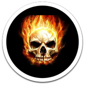 Photo HD Skull LWP icon