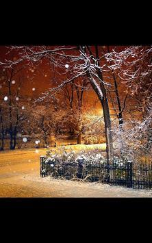 Photo HD Fairy Tale Snow LWP screenshot 2