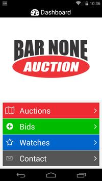 Bar None Auction poster