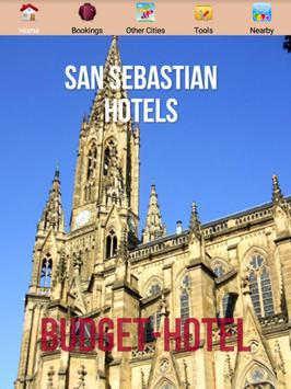 San Sebastian Hotels poster