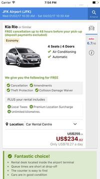 Rental Car: Best Price Search screenshot 1