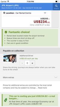 Rental Car: Best Price Search screenshot 2