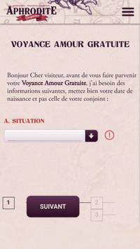 Voyance et Prophétie Amoureuse apk screenshot