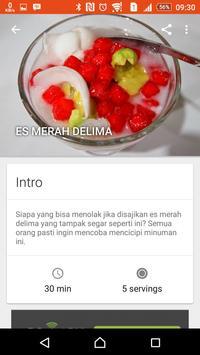 Resep Minuman & Makanan Segar screenshot 1