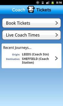 National Express Coach Tickets poster