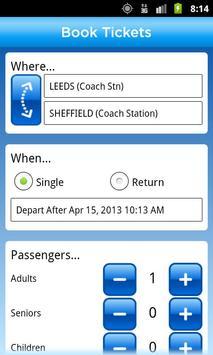 National Express Coach Tickets screenshot 1