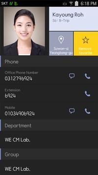 Samsung WE VoIP Pro apk screenshot