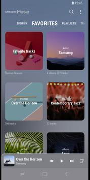 Samsung Music screenshot 1