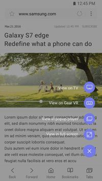 Samsung Internet Browser apk screenshot