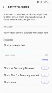 Samsung Internet Browser apk screenshot