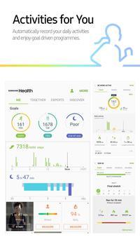 Samsung Health poster