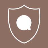 KNOX Message BETA Brown skin icon