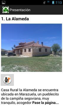 Casa Rural La alameda poster